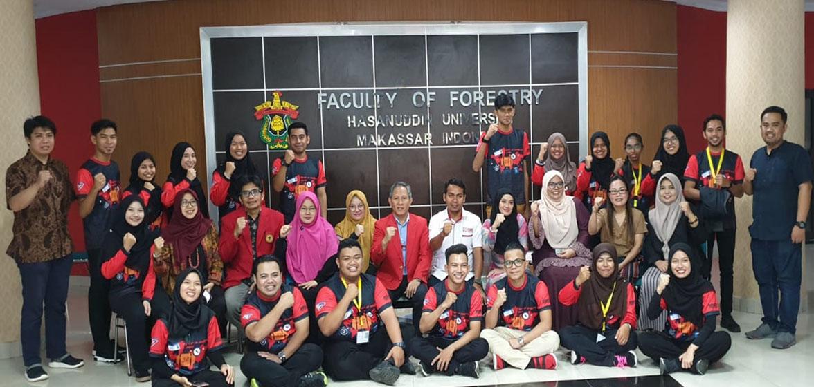 Inbound activities of Universiti Putra Malaysia students